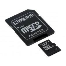KINGSTON microSDHC Class4 8GB (SDC4 / 8GB) spominska kartica