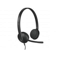 LOGITECH H340 USB z mikrofonom slušalke