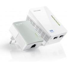 TP-LINK TL-WPA4220KIT AV500 300Mbps powerline starter kit brezžični WiFi ojačevalec