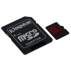 KINGSTON microSDHC 32GB UHS-I U3 (SDCA3 / 32GB) spominska kartica