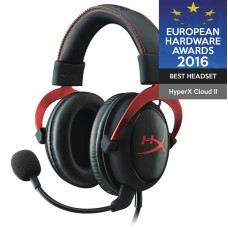 HYPERX Cloud II Pro (KHX-HSCP-RD) USB črno / rdeče gaming slušalke