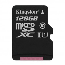 KINGSTON microSDXC 128GB (SDC10G2 / 128GBSP) spominska kartica