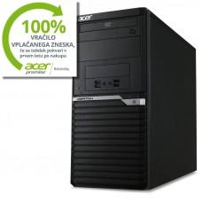 ACER Veriton 6 M6640G i3-6100 Q170 4GB 1TB  Windows 10 Pro tipkovnica miška (DT.VN1EX.033) namizni računalnik