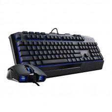 COOLER MASTER Devastator II žični gaming komplet tipkovnice in miške z modro LED osvetlitvijo slo tisk