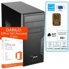 PCPLUS e-m@chine i5-6400 4GB 240GB SSD Windows 10 namizni računalnik + darilo: 1 leto Office 365 Personal