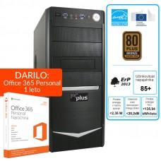 PCPLUS Storm i5-6500 8GB 240GB SSD GT730 Windows 10 namizni računalnik + darilo: 1 leto Office 365 Personal