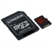 KINGSTON microSDHC 128GB UHS-I U3 (SDCA3 / 128GB) spominska kartica