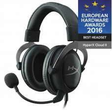 HYPERX Cloud II Pro (KHX-HSCP-GM) USB kovinsko srebrne gaming slušalke