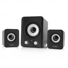 LOGIC LS-20 2.1 11W črni zvočniki