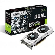 ASUS GeForce GTX 1060 Dual OC 6GB GDDR5 (DUAL-GTX1060-O6G) grafična kartica