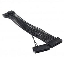24-pin ATX na dual 24-pin ATX 0,3M podaljšek napajalni kabel za povezavo dveh napajalnikov