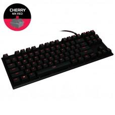 HYPERX Alloy FPS Pro (HX-KB4RD1-US / R2 MX Red) žična osvetljena črna slo tisk mehanska tipkovnica
