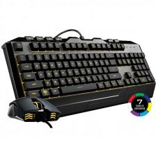 COOLER MASTER Devastator 3 žični osvetlitev 7 barv slo tisk gaming komplet