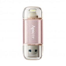 APACER AH190 32GB USB3.1-Lightning Apple rose gold (AP32GAH190H-1) Dual USB ključ