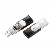 APACER AH650 64GB USB3.1 s čitalcem prstnih odtisov srebrn (AP64GAH650S-1) USB ključ