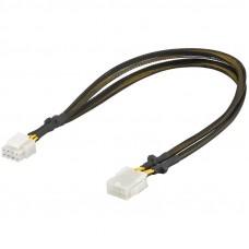 GOOBAY PCI-E / PCI Express 8-pin na PCIe ženski (8 pin) 0,44m razširitveni kabel za grafične kartice