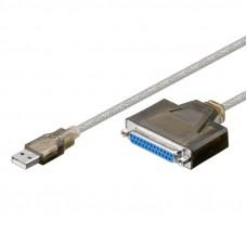 GOOBAY 1,5m USB  /  D-SUB 25-pin paralelni kabel za tiskalnik