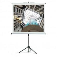 Prenosno projekcijsko platno 158x158 cm