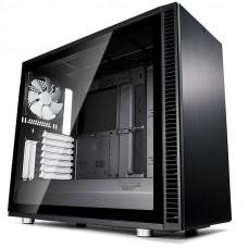 FRACTAL Define S2 Black TG MidiATX okno črno ohišje