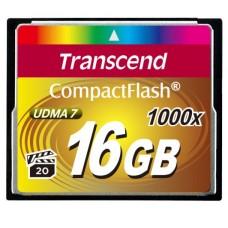 CF Transcend 16GB 1000x Ultimate 1000x Hi - Speed (TS16GCF1000)