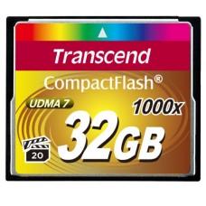 CF Transcend 32GB 1000x Ultimate 1000x Hi - Speed (TS32GCF1000)