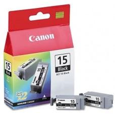 Canon BCI-15 BK 2PCS črna kartuša
