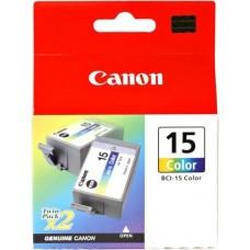 Canon BCI-15 CL 2PCS barvna kartuša