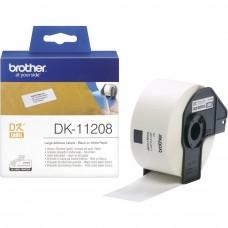 Brother DK11208 Večje nalepke 38x90mm