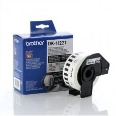 Brother DK11221 Kvadratne nalepke 23mm x 23mm