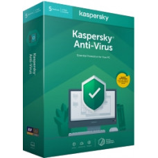 Kaspersky Anti-Virus 1-letna obnovitev za 3PC BOX