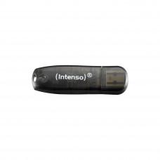 Intenso 16GB Rainbow Line USB 2.0 spominski ključek - Črn