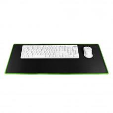 9H Podloga za miško in tipkovnico črno/zelena L