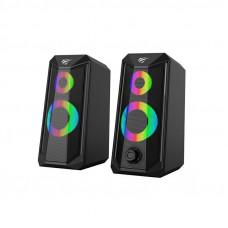 HAVIT Gamenote računalniški zvočniki z LED osvetlitvijo SK202