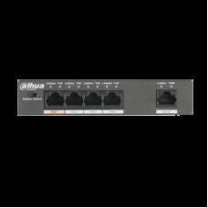 Dahua stikalo mrežno 4 port  10/100 POE PFS3005-4ET-60