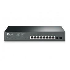 TP-Link JetStream 8-Port Gigabit Smart PoE+ Switch, 2 × SFP